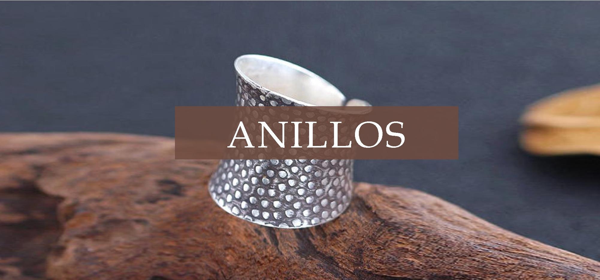 Ir a la tienda y comprar online anillos de plata